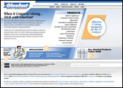 Website Internet Design for Gluefast
