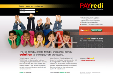 PAYredi Payment Portal Website Design & Development by DDA