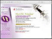 Website Internet Design for My CML Tracker