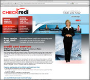 Internet Website Design for CheckRedi