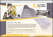 Website Internet Design for Military Matters
